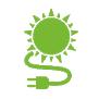 Icono fotovoltaica - Moneleg