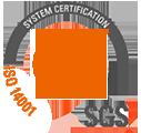 Certificado de Gestión Medioambiental UNE-EN-ISO 14001-2015 - Moneleg