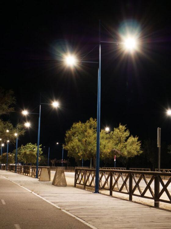 Contrato para el servicio integral de alumbrado exterior de Chiclana de la Frontera (2017-2022) - Moneleg