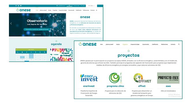 ANESE presenta su nueva página web más visual, moderna y orientada a ser un referente informativo para las ESEs - Moneleg