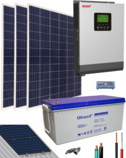 kit solar fotovoltaico aislada 1000w 12v 3000whdia thumb main
