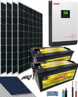 kit solar instalacion aislada 3000w 24v 6000whdia thumb main