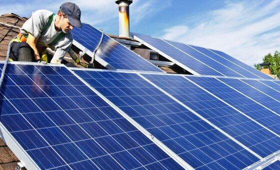 Instalación placas tejado